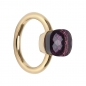 Preview: Ring Amethyst lila eckig